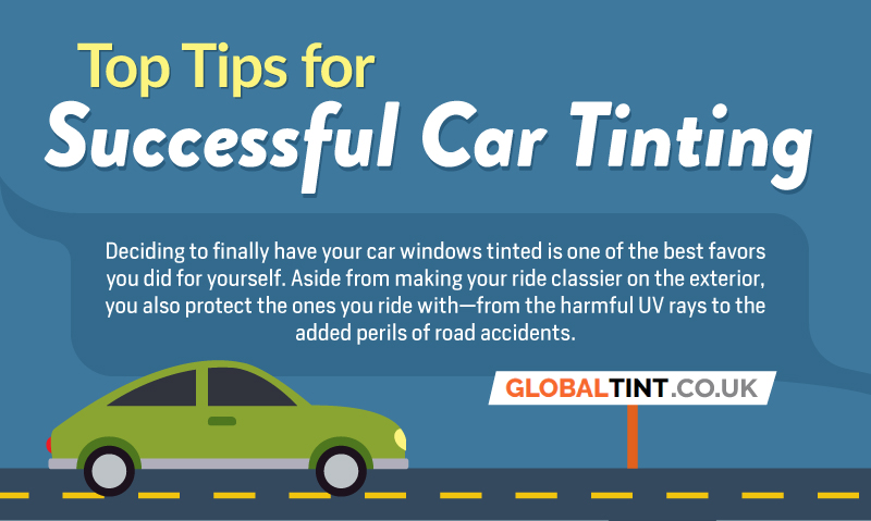 Top Tips For Successful Car Tinting