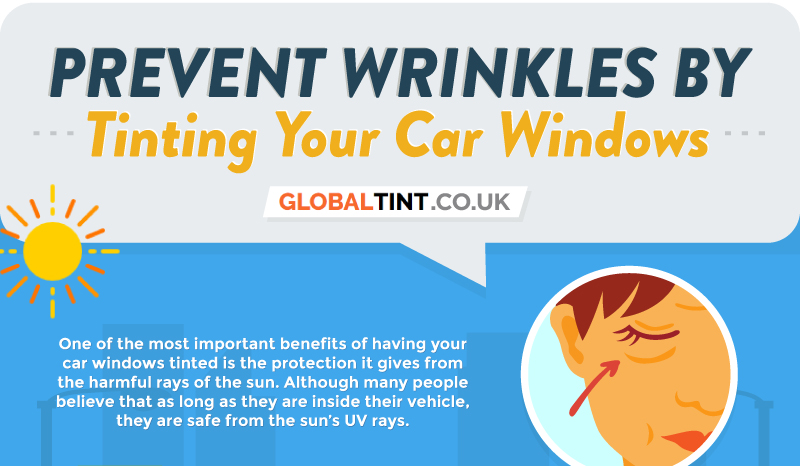 Prevent Wrinkles by Tinting Your Car Windows