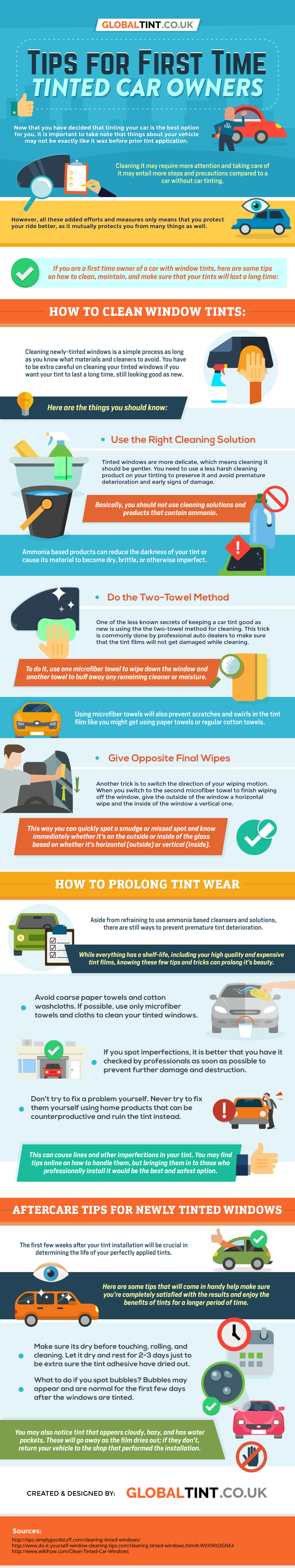 Tips For First Time Tinted Car Owners