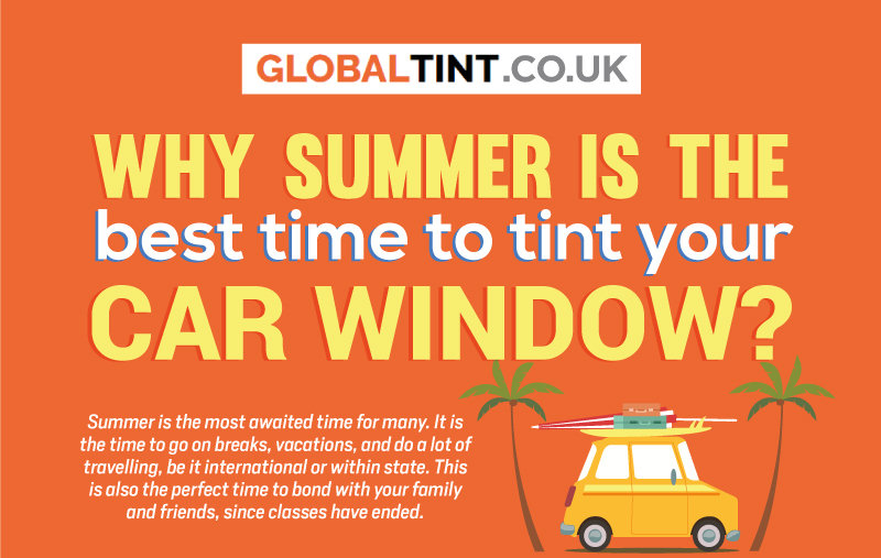 Why Summer is the best time to tint your car window