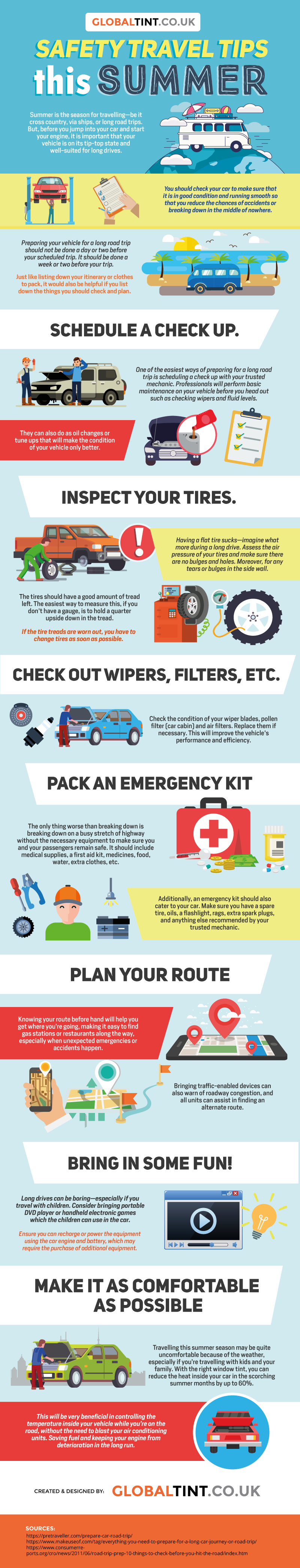 Safety travel tips this Summer