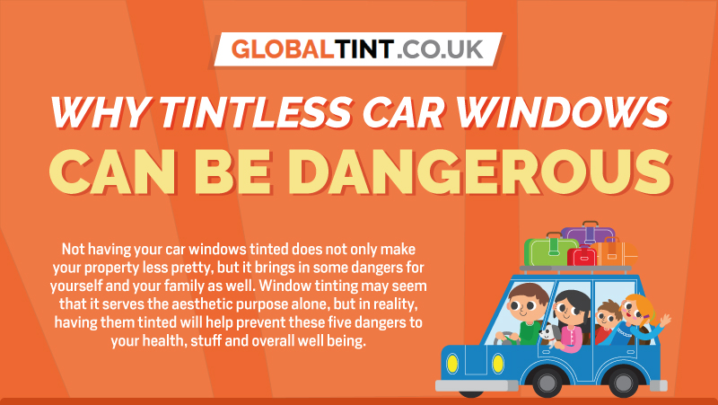 Why Tintless Car Windows can be Dangerous